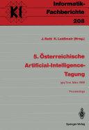 5    sterreichische Artificial Intelligence Tagung