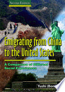 EMIGRATING FROM CHINA TO THE UNITED STATES Book PDF