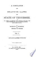 A Compiliation of the Statute Laws of the State of Tennessee  Sec  1 2745d
