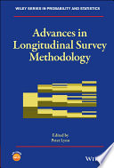 Advances in Longitudinal Survey Methodology