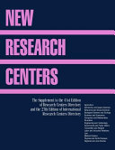 New Research Centers