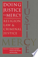 Doing Justice to Mercy Book PDF