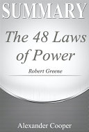 Summary of The 48 Laws of Power Pdf/ePub eBook