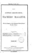 Scottish sabbath school teachers  magazine