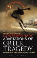 Contemporary Adaptations of Greek Tragedy Pdf/ePub eBook