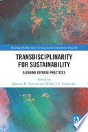 Transdisciplinarity For Sustainability