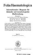 Folia haematologica