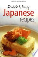 Mini Quick   Easy Japanese Recipes