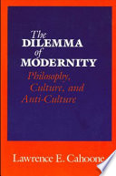 The Dilemma of Modernity