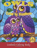 Owls Color by numbers ebook