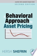 A Behavioral Approach to Asset Pricing Book
