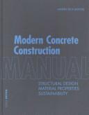 Modern Concrete Construction Manual