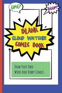 Blank Cloud Watcher Comic Book