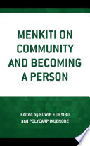 Menkiti on Community and Becoming a Person