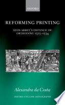 Reforming Printing