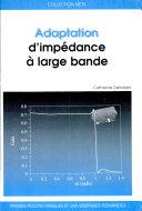 Adaptation d'impédance à large bande ebook