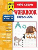 Wipe Clean Workbook Preschool Ages 3 6