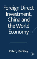 Foreign Direct Investment  China and the World Economy