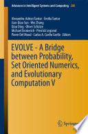 EVOLVE   A Bridge between Probability  Set Oriented Numerics  and Evolutionary Computation V Book