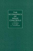 Economics of Wage Controls