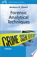 Forensic Analytical Techniques Book