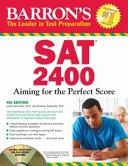 Barron s SAT 2400
