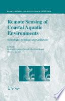 Remote Sensing Of Coastal Aquatic Environments Book PDF