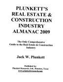 Plunkett's Real Estate & Construction Industry Almanac 2009