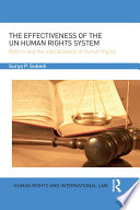 The Effectiveness of the UN Human Rights System