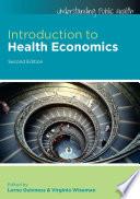 Ebook Introduction To Health Economics