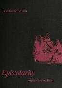Epistolarity