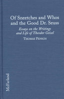 of sneetches and whos and the good dr seuss essays on the of sneetches and whos and the good dr seuss
