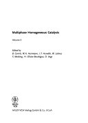 Multiphase Homogeneous Catalysis