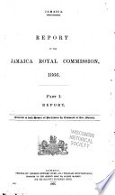 Jamaica  Report of the Jamaica Royal Commission  1866