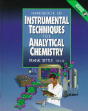 Handbook Of Instrumental Techniques For Analytical Chemistry Book PDF