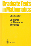 Cover of Lectures on Reimann Surfaces