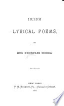 Irish Lyrical Poems