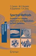 Spectral Methods