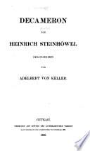 Decameron von Heinrich Steinhöwel