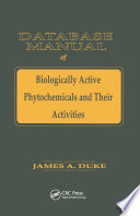Database of Biologically Active Phytochemicals   Their Activity