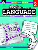 180 Days of Language for Second Grade  Practice  Assess  Diagnose