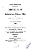 Lexicon Balatronicum Pdf/ePub eBook