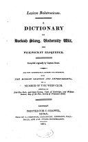 Lexicon Balatronicum