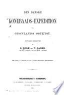 Den danske Konebaads-Expedition til Grønlands Østkyst