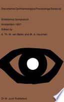 Strabismus Symposium Amsterdam  September 3   4  1981