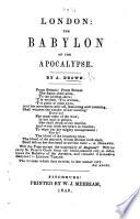 London The Babylon Of The Apocalypse
