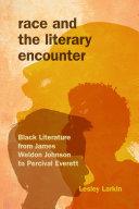 Race and the Literary Encounter Pdf/ePub eBook
