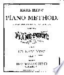 Karl Merz  piano method Book PDF