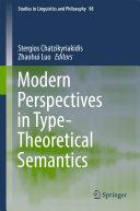 Modern Perspectives in Type-Theoretical Semantics [Pdf/ePub] eBook