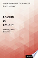 link to Disability as diversity : developing cultural competence in the TCC library catalog